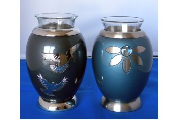Dove/Flower Candle Urn